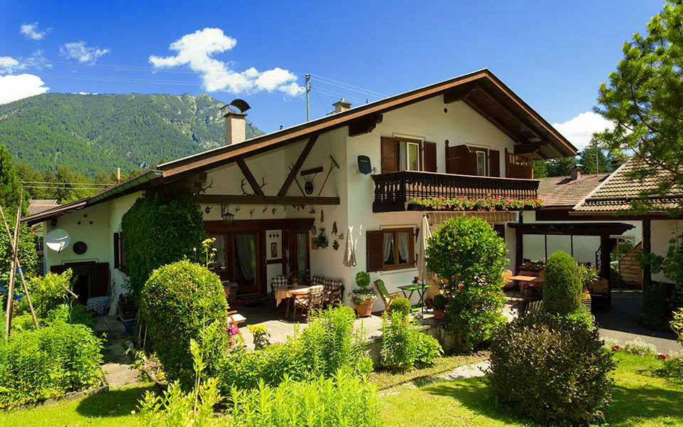 Pension Garni Gästehaus Bed Breakfast Grainau Garmisch